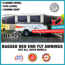 Bagged Bed Flys Privacy Screen Awnings Covers Camper Caravan Suit Jayco1980-2018