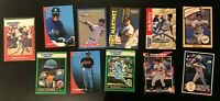 11 Card Starting Lineup Card Lot Griffey Ripken + More (Cards only)