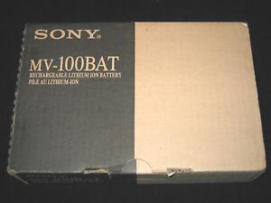 NIB SONY MV-100BAT RECHARGEABLE LITHIUM BATTERY FOR MV-700HR IN CAR DVD PLAYER