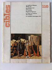 CIBLES n°110 du 03/1979; Carabine Remington 552/ Mise en couleurs des métaux