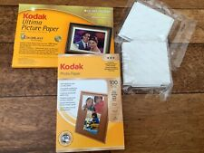 """Collection of Kodak and Cannon Picture Papers (115 - 10x15cm/ 4""""x 6"""")"""