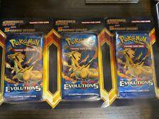 pokemon Evolution blister pack x5 extra cards X1 SEALED blister pack CHARIZARD?!