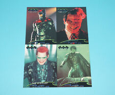 BATMAN FOREVER FLEER ULTRA UNCUT PROMO CARD SHEET 1995 FLEER