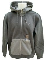 NEW Vintage NIKE Sportswear NSW Hoodie Jacket Grey M