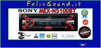 SONY MEX-N5100BT   Autoradio  CD / MP3 / USB / AUX Bluetooth 4X55 watt  2 preout