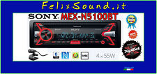 SONY MEX-N5100BT   Autoradio  CD / MP3 / USB / AUX Bluetooth 4X55 watt  2 preout