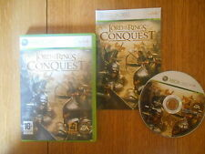 Lord of the Rings Conquest/ Jeu XBOX 360 / Complet / Version NL