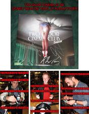 "TWO DOOR CINEMA CLUB signed ""BEACON"" ALBUM COVER - PROOF - Alex Trimble COA"