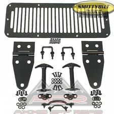 NEW Hood Hinge Set Kit 7699 Fits 78-95 Jeep Wrangler CJ5 YJ CJ7 Scrambler Black