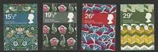 GB 1982 British Textiles SG 1192/1195 Set of 4 Mint MNH