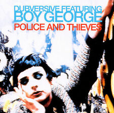 Police & Thieves [Single] by Dubversive/Boy George (CD, Aug-1998, Finetune Recor