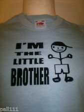 I'M THE LITTLE BROTHER (WITH YOUR NAME) FANTASTIC FUNNY T SHIRT