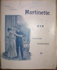 1900 MARTINETTE MOLTE FOTOGRAFIE D'EPOCA COMPLETO RARO