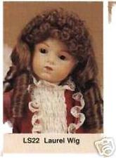 """DOLL WIG - Size 8 - 9"""" LAUREL wig  - HONEY BLONDE"""