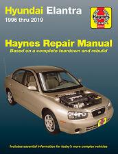 1996-2019 Hyundai Elantra Haynes Repair Service Workshop Manual Book Guide 3491