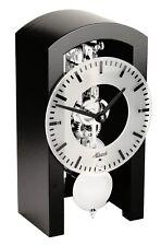 Hermle -BOSTON 18cm NOIR CHROME 23016-740721 haute qualité mécanique horloge de