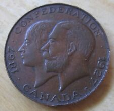 Canada Confederation medal dated 1867-1927 50th Anniversary MEDAL