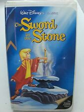 THE SWORD IN THE STONE Walt Disney's Classic VHS VCR The Original Animated Class