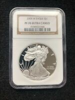 2008 W PROOF SILVER EAGLE NGC PF70 ULTRA CAMEO *FREE SHIPPING*