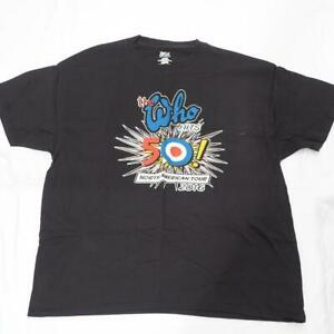 The Who Hits 50 North American Concert Tour 2016 T Shirt Size XL