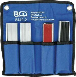 BGS Schraubstock Schutzbacken 8x Schonbacken 150 mm Magnet Aluminium Backen