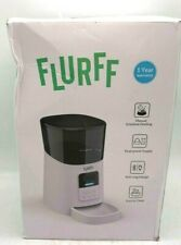 New listing Flurff Automatic Cat Feeder, Auto Dog Food Dispenser, Small Animal Automatic Fee