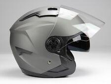 Jethelm Langvisier Jet300 Motorradhelm Roller Helm  Sonnenblende   S M L XL XXL