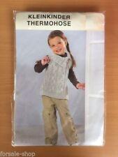 Markenlose Mädchen-Hosen im Thermohose-Stil