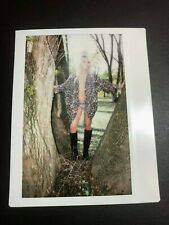 Instax polaroid image Beautiful one of a kind sexy blonde model lingerie #207