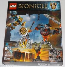 LEGO Bionicle MASK MAKER vs SKULL GRINDER 70795 Mask of Creation hammer power