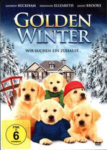Golden Winter , DVD , UK Region , new and sealed , Santa's Little Yelpers