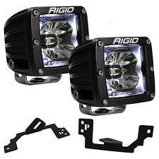 Rigid Radiance LED Fog Light Kit w/White Backlight for Dodge Ram 1500 2500 3500