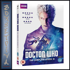 DOCTOR WHO - COMPLETE SERIES 10 - TENTH SERIES   *BRAND NEW DVD ***