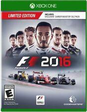 F1 2016 USED SEALED (Microsoft Xbox One, 2016)