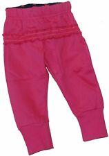 Dirkje Baby Mädchen Sweathose Jogginghose Hose Rüsche Samtband Pink Gr. 86 NeU
