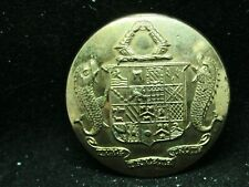 GEORGE TREVELYAN 2nd BARONET ~ FISH SUPPORTERS 26mm GILT LIVERY BUTTON 1886-1928
