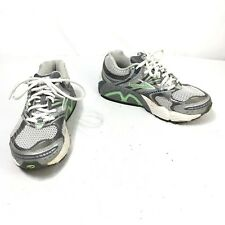 Brooks Ariel Women's Size 7 B Green Silver Lace Up Athletic Running Shoes
