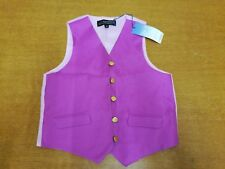Child's Equestrian Show Waistcoat by Equetech. Purple. New.
