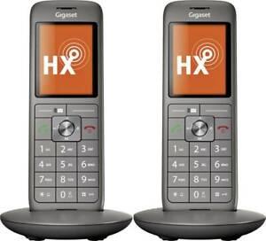 Gigaset CL660 HX Duo DECT Mobilteil Anthrazit