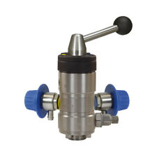 More details for suttner st164 foam injector twin chemical lever valve food grade stainless steel