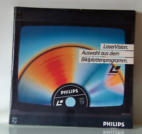 Philips / LaserVision / Bildplattenprogramm / Fach-Katalog 1980er / Extrem Rar !