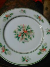 "Lot of 2 Noritake HOLLY #2228 Dinner Plate 10 1/2"" Dinner Plate Fine China"