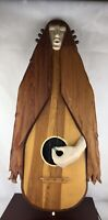 Original Art Sculpture By Donn Russell Girl With A Guitar (No. 2)Signed