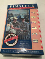 Pimsleur French Language Program Cassette Course Totally Audio Beginners