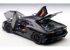 AUTOART LAMBORGHINI AVENTADOR LP720-4 50th ANNIV MATT BLACK 1:18*VERY RARE!