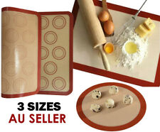 Silicone Non-Stick Durable Reusable Baking Mats Cake Pastry Biscuit Tray Sheets