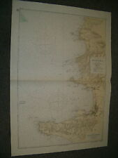 More details for vintage japanese chart no 55 honshu - tateyama wan & approaches 1948 edn