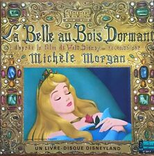La Belle au Bois Dormant raconté par Michèle Morgan - Vinyl LP 33T