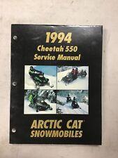 1994 Arctic Cat Snowmobile Service Manual Cheetah 550
