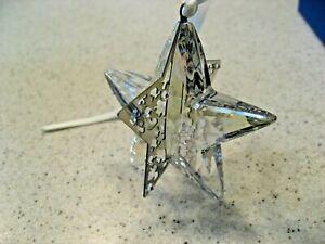 Swarovski 2012 Star Crystal Moonlight Christmas Ornament 1140007